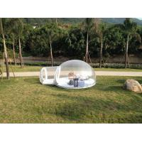 Durable 0.6 And 0.8mm PVC Inflatable Party Tent For Relax Transparent Manufactures