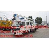 foton aumark 14m overhead working platform truck for export to Nigeria, hot sale foton 14M-16M aerial working truck Manufactures