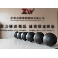 Buy cheap Cast iron forged steel grinding media balls grinding rods cylpebs from wholesalers