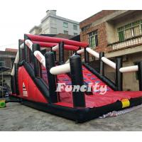 Durable PVC Tarpaulin Inflatable 5k Obstacle Course Run Race For Sport Games Manufactures