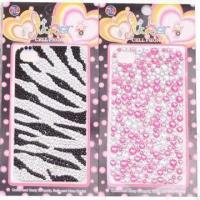 Crystal Mobile Phone Stickers with Glue and without No Remainder Manufactures
