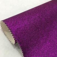 Fashion Textured Glitter Wall Fabric Grade 3 Moisture Proof  Modern Style Manufactures