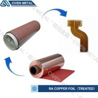 High Flexibility 25UM / 35UM / 50UM RA Copper Foil For Fine Circuit FPC