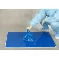 30 layers blue floor protection PE laboratory sticky mat Manufactures