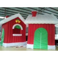 Oxford Cloth Inflatable Christmas Products Continuously House custom printed Manufactures