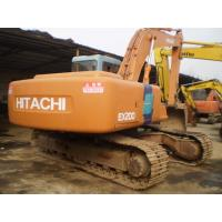 New Paint Second Hand Hitachi Excavator For Sale , EX200 - 3 Hitachi Mini Digger Manufactures