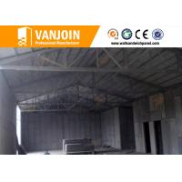 High rise concrete / steel structure insulated building panels Heat Resistance Manufactures