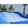 Blue Flowrider Surf Machine Water Ride Manufactures