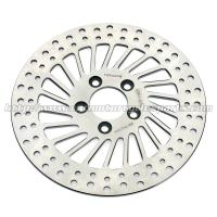 Quality Harley Davidson Sportster Accessories Silver Stainless Steel Rear Brakes Disc for sale