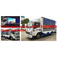 Euro 5 FAW mobile digital LED billboard advertising truck for sale, high quality customized FAW P8 LED adverising truck Manufactures