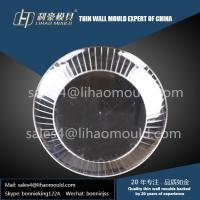 PS high speed plastic injection mould of middle size  thin wall plate manufacturer Manufactures