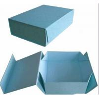 Light Blue Folding Gift Boxes With 4 Color Printing, Matte Lamination 11 * 7 * 5 Inch Manufactures
