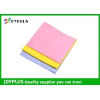 Needle - Punched Non Woven Cleaning Cloths Disposable Viscose / Polyester Material Manufactures