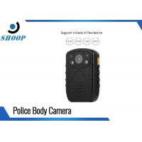 Law Enforcement Recorder 3MP IP67 Police Body Camera With 8MP CMOS Sensor Manufactures