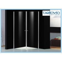 Quality 6 mm Clear Tempered Glass Frameless Shower Enclosure Pivot Door 6550-1 for sale