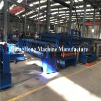 Quality Double Deck Glazed Tile Roll Forming Machine With Hydraulic Motor Control 25m for sale