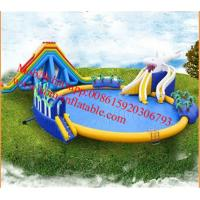 inflatable slide for inflatable pool  slide giant inflatable pool slide for adult Manufactures