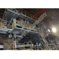 China Single Fourdrinier Newspaper Making Machine Paper Manufacturing Plant on sale