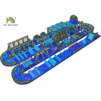 Buy cheap Big Outdoor Adult Inflatable Obstacle Challenging Sports Games Water Proof & from wholesalers