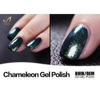 Beautiful Color Changing Shellac Nail Polish , Gel Manicure Nail Polish No Layering Manufactures