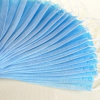 Breathable Non Woven Anti Smog Earloop 3 Ply Face Mask Manufactures
