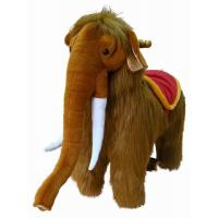 Promotional zoo animal Plush elephant Stuffed Toys Animal with Big nose Manufactures