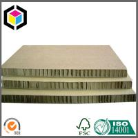 Strong Quality Honeycomb Paperboard Both Sides Brown Color; Honeycomb Board Manufactures