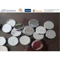 Chrome Plated Plastic Parts ABS Button Covers , Custom Injection Molding Service Manufactures