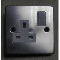Metal Style 13 Amp Switched Socket Manufactures