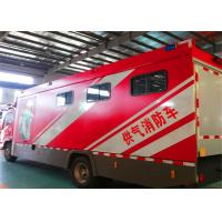 Gross Weight 100000kg Fire Rescue Vehicles , 4HK1-TC Chassis Engine Industrial Fire Truck Manufactures