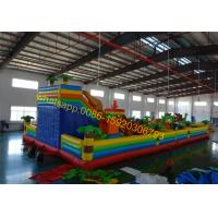 Quality stocks giant bouncy castle playground for sales for sale