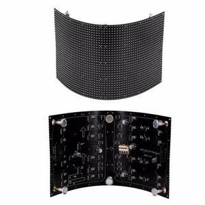 P2.5 Soft Module Flexible LED Screen Arbitrary Shape Light & Energy Saving Manufactures