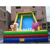 Durable Kids and Adults Large Commercial PVC Tarpaulin Inflatable Slide for Rental,Family Manufactures