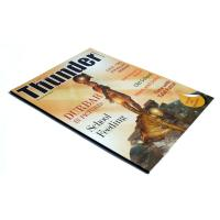 UV coated or glossy / matte oil vanishing offset paper Printing Trade Magazines Manufactures