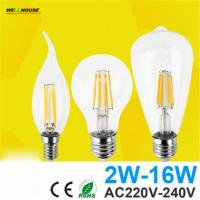 Antique Retro Vintage LED Edison Bulb E27 LED Bulb E14 Filament Light 220V Glass Bulb Lamp 4W 8W 12W 16W Candle Light La Manufactures