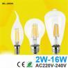 Buy cheap Antique Retro Vintage LED Edison Bulb E27 LED Bulb E14 Filament Light 220V Glass Bulb Lamp 4W 8W 12W 16W Candle Light La from wholesalers