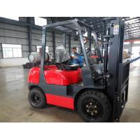 Gas Engine Powered Pallet Truck Type LPG Forklift 3000kg Loading Capacity Manufactures