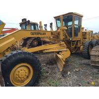 Cat 14g  Used Motor Grader 25.9 Ft Turning Radius 18440 Kg Operation Weight Manufactures