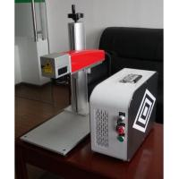 20W Mini fiber laser marking machine for plastic PVC data matrix and barcode Manufactures