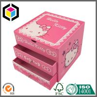 Slide Drawer Matte Color Print Paper Chipboard Gift Packaging Box for Cosmetics Manufactures
