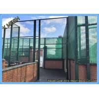 High Level Security Welded Panel Barrier Anti - Climb 358/3510 Fence Panel Manufactures