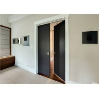 Plastic Wood Composite Door MDF Material Finished Surface Interior Position Manufactures
