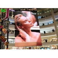 P2 indoor slim hanging full color led display 3D indoor led display signs Manufactures