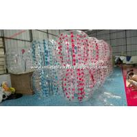 Amazing TPU Inflatable Bubble Ball Football Equipment For Backyard Sports Fun Manufactures