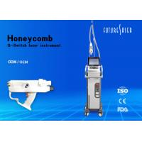 Buy cheap High Power Laser Tattoo Removal Machine Q Switched 1800mj 1064 / 532 Nm from wholesalers