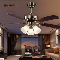 2015 Crystal Ceiling Fan lron ventilador de teto com cristais Modern Fan Lighting American Style Home Lamp Free Shipping Manufactures
