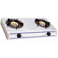 Kitchenware Natural Gas Hob / 2 Burner Gas Stove With Enamel Pan Support Manufactures