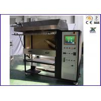 China Black Heat Insulation Flammability Test For Plastics  Flame Spread Characteristic Tester on sale