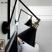 Louis Poulsen scone light E27 plated Loft american retro vintage iron wall lamp 40W Antique wall lamp industrial With Manufactures