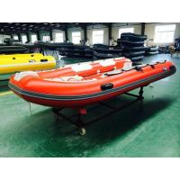 Professional Electric 3.9m Rigid Inflatable Rib Boats Inflatable Rescue Boat Manufactures